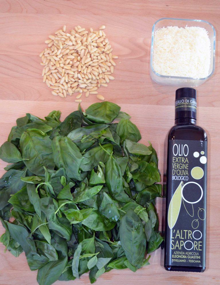 pesto al basilico con olio l'altro sapore pitigliano